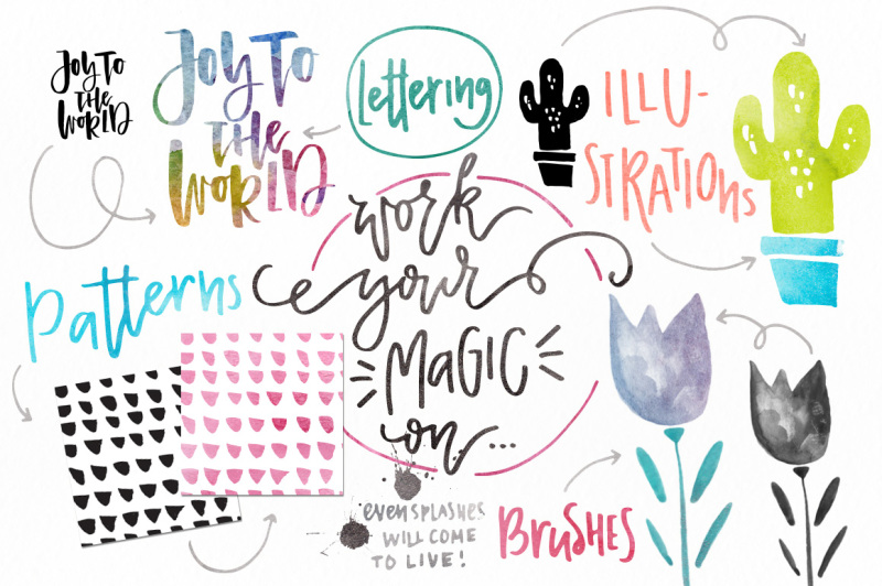 watercolor-magic-design-kit