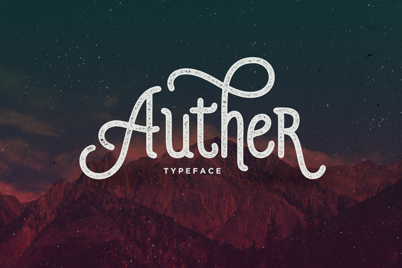 auther-typeface