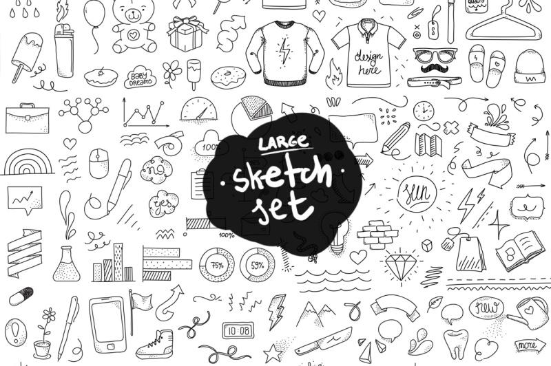 large-set-of-doodles