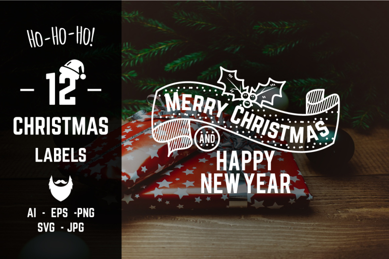 christmas-amp-new-year-labels-amp-badges