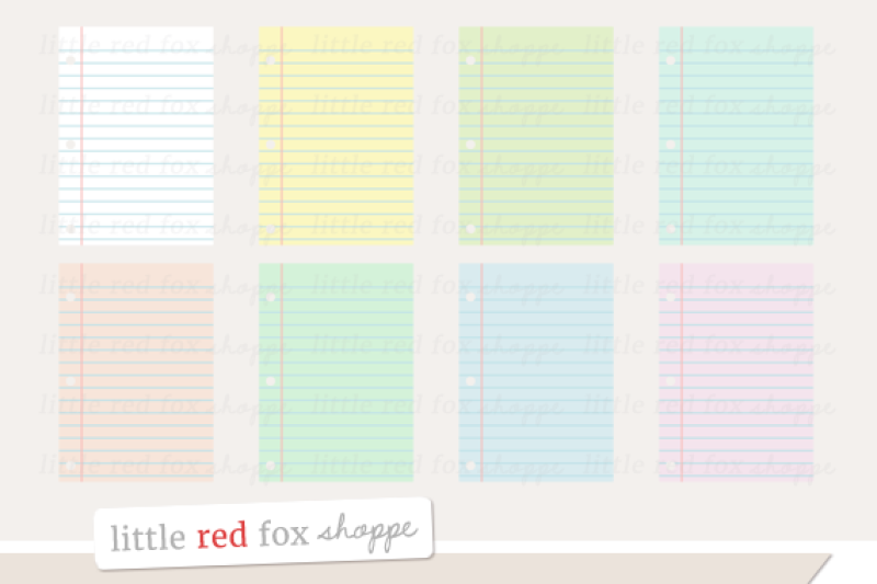 notebook-paper-clipart