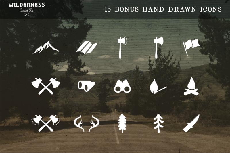 6-hand-drawn-logos-bonus-icons