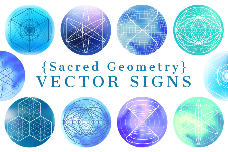 sacred-geometry-vector-signs