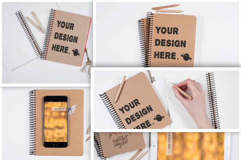 set-from-5-artist-table-mockups