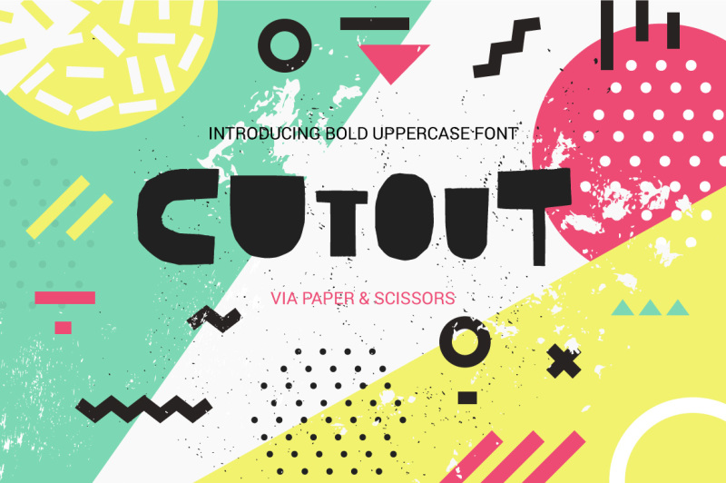 cutout-bold-uppercase-font