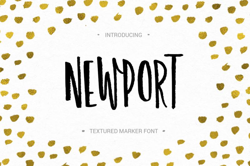 newport-marker-font