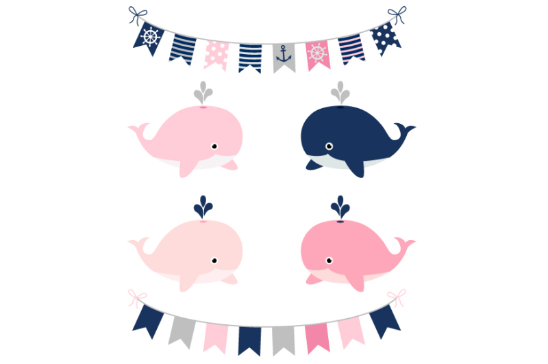 girl-nautical-clipart-set-kids-sailing-party-whale-anchor-boat-clip-art