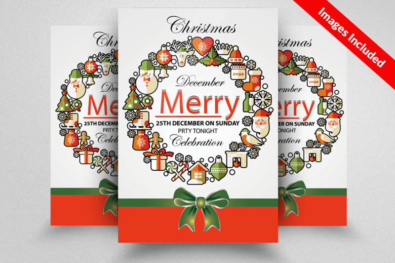 new-christmas-flyer-template