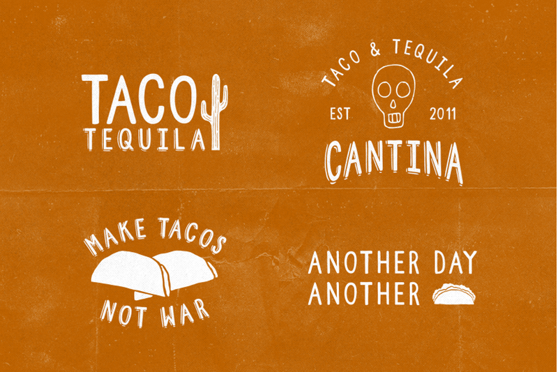 taco-and-tequila-2-fonts-extras