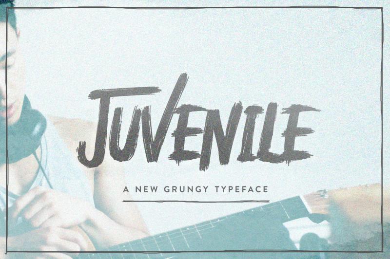 juvenile-typeface