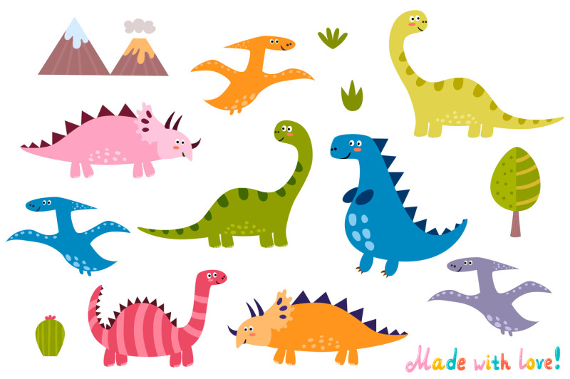 cute-dinos-seamless-pattern-and-cute-labels