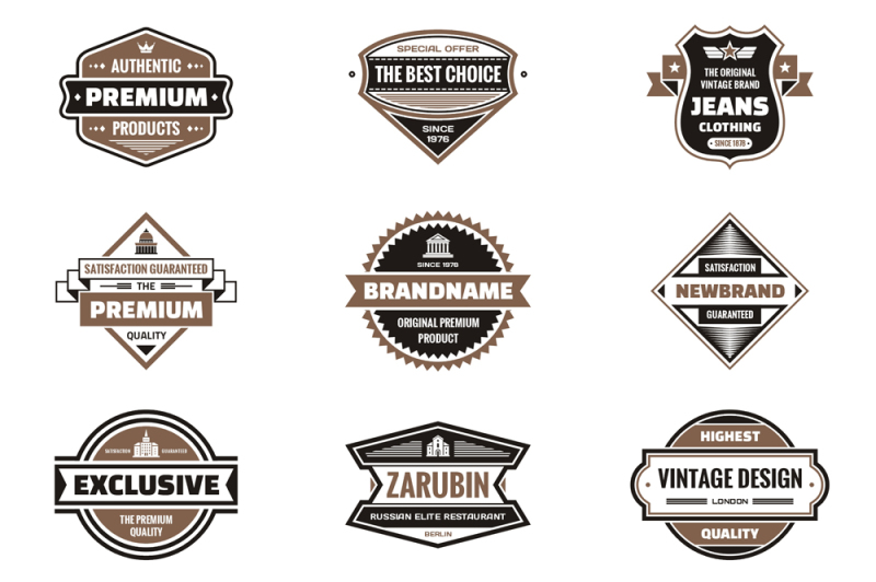 27-vintage-vector-logos-and-badges