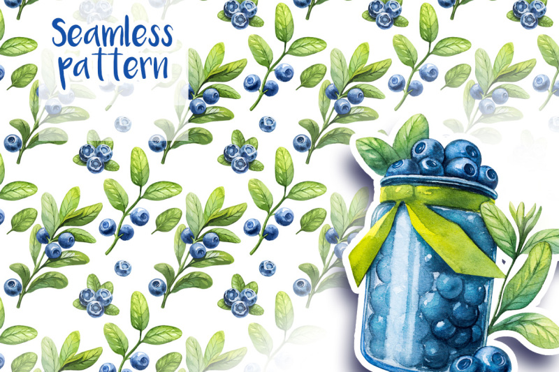 watercolor-blueberry