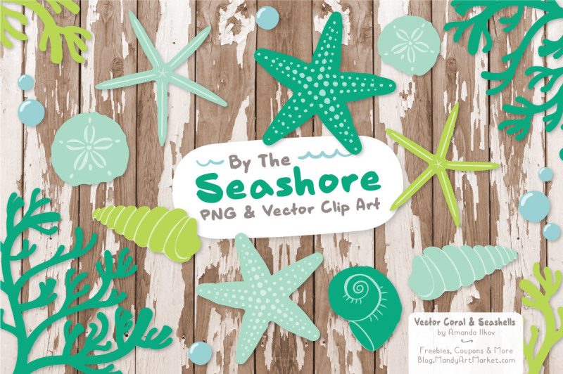 seashore-shells-and-coral-clipart-in-emerald-isle