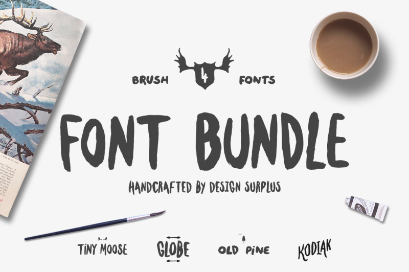 brush-font-bundle-50-percent-off