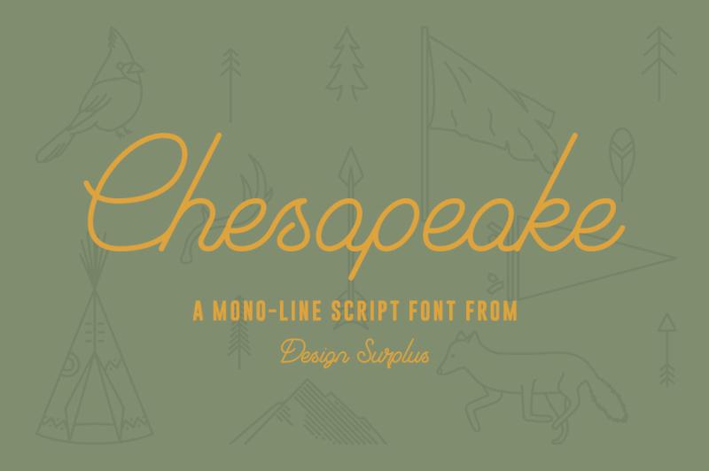 chesapeake-script-font