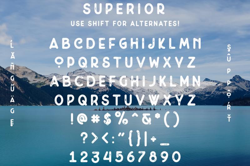 superior-font-and-logo-bundle