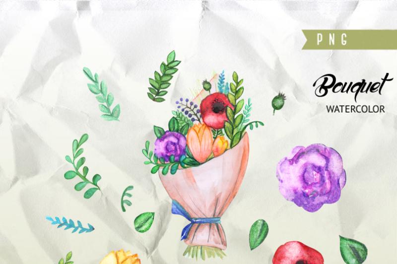 watercolor-bouquet-clipart