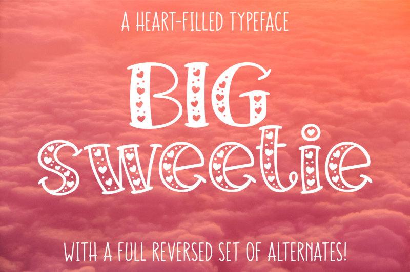 big-sweetie-heart-filled-font