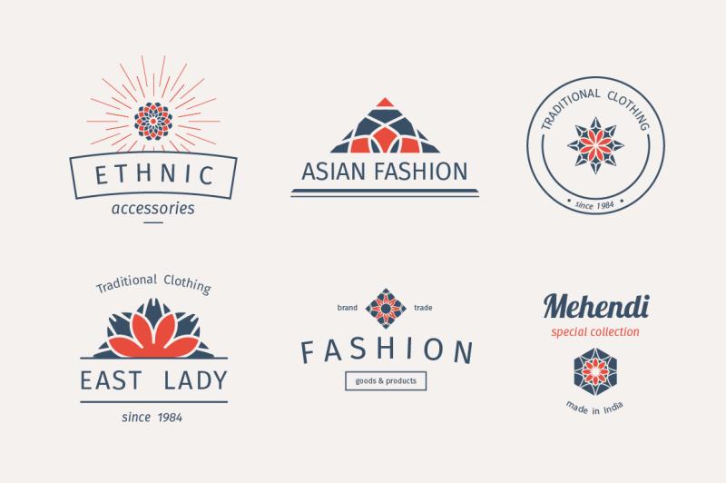 6-fashion-logo-templates-vector-set