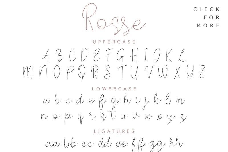 rosse-casual-beauty-font