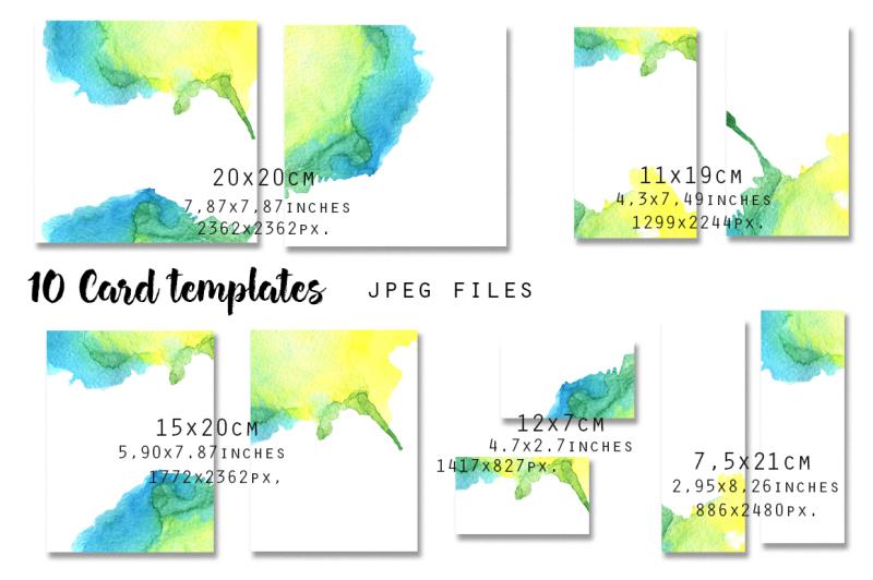 card-templates-set-10