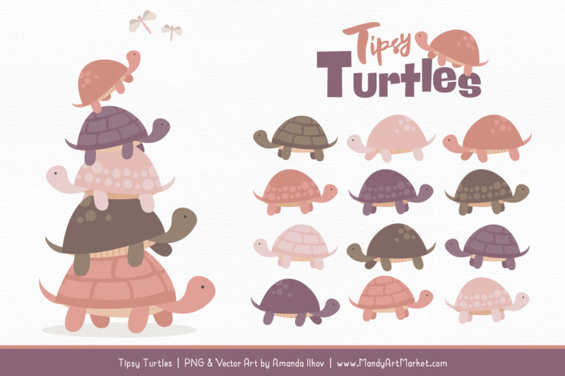 sweet-stacks-tipsy-turtles-stack-clipart-in-buff