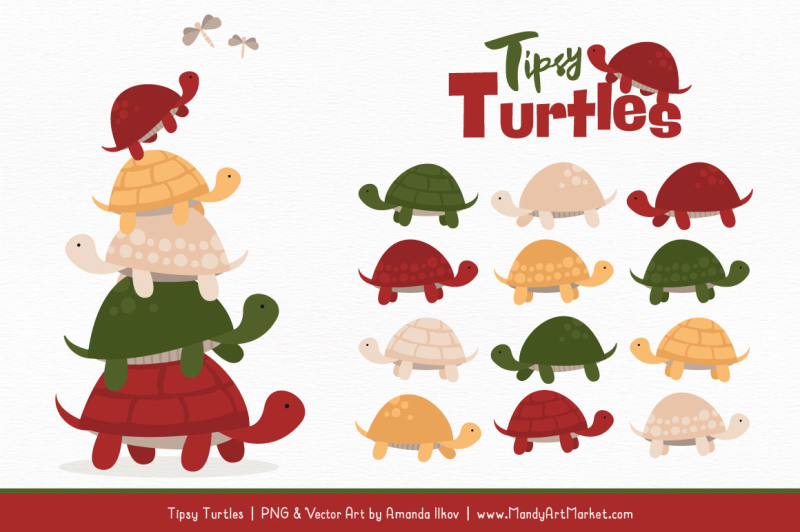 sweet-stacks-tipsy-turtles-stack-clipart-in-christmas