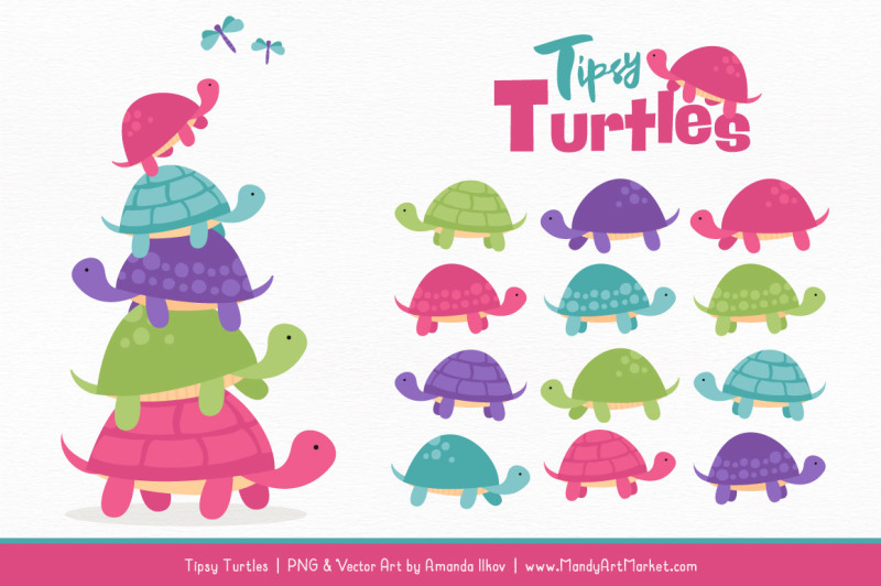sweet-stacks-tipsy-turtles-stack-clipart-in-crayon-box-girl