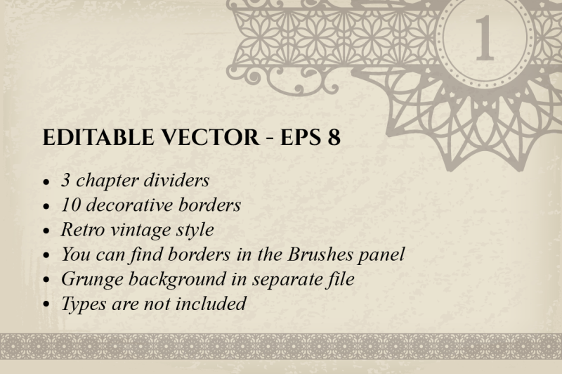 vector-calligraphic-design-elements