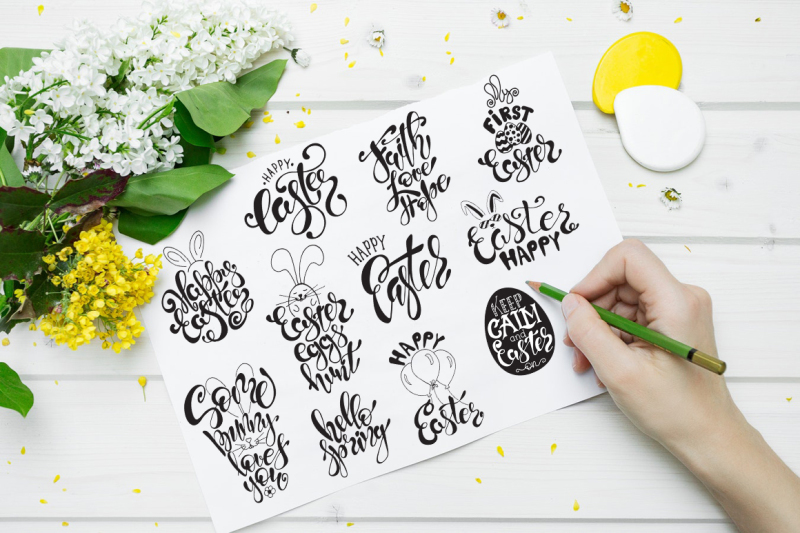 easter-quotes-spring-lettering-set