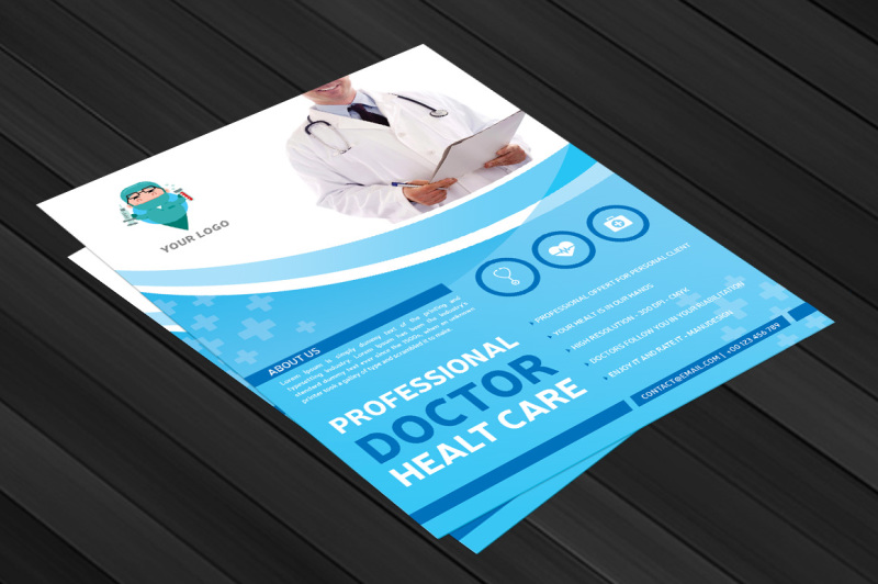 professional-doctor-health-flyer