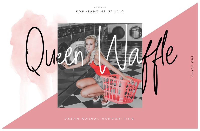 queen-waffle-fancy-handwriting