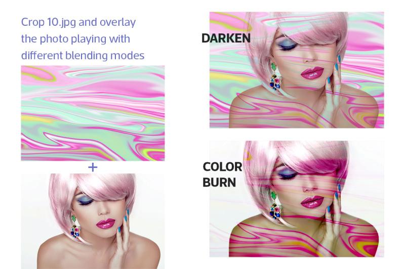 iridescent-marbling