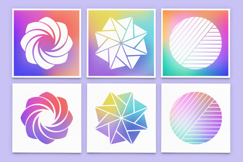 holographic-gradient-backgrounds