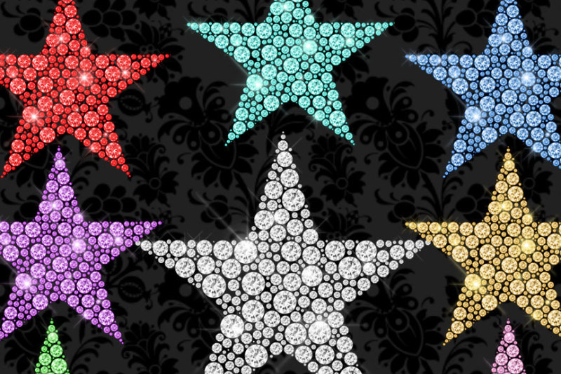 diamond-stars-clipart