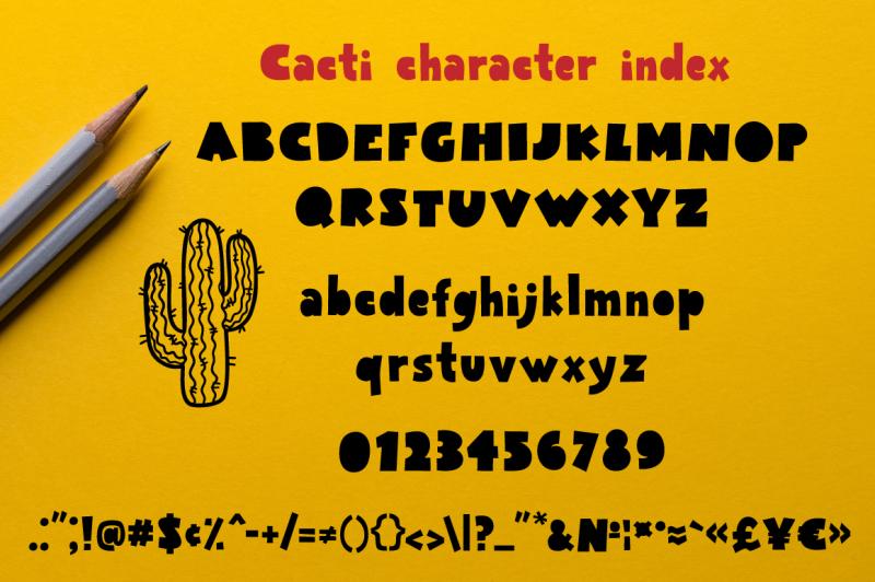 cacti-display-font