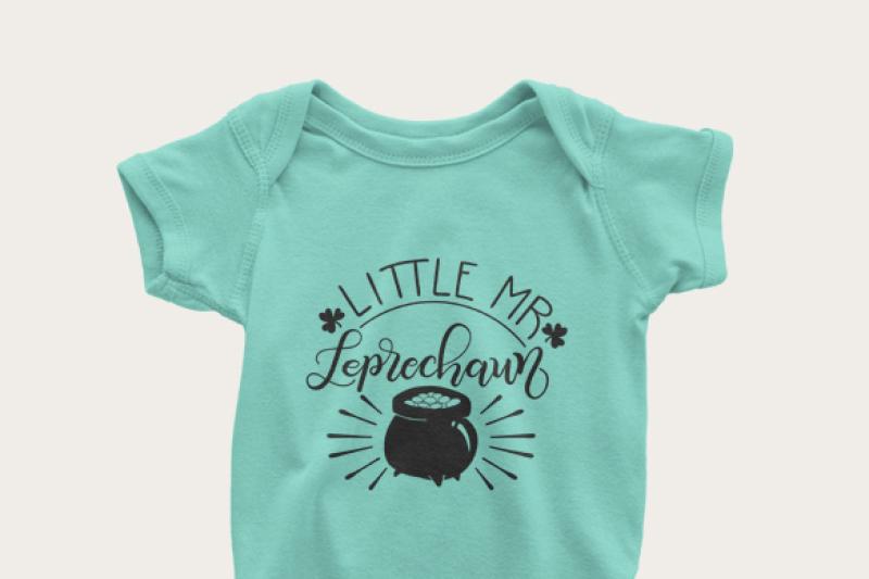 little-mr-leprechaun-hand-drawn-lettered-cut-file