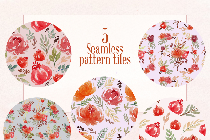 5-floral-seamless-patterns