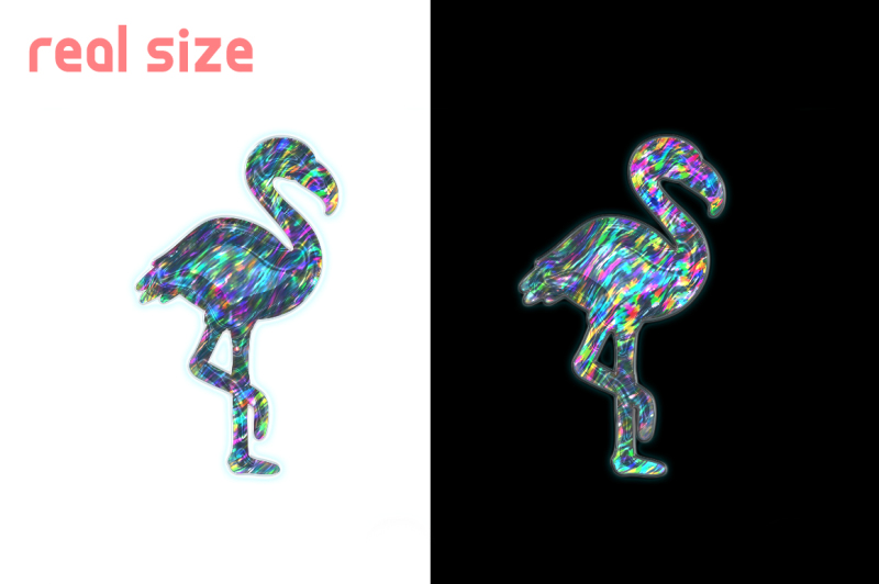 realistic-holographic-stickers-patterns-set