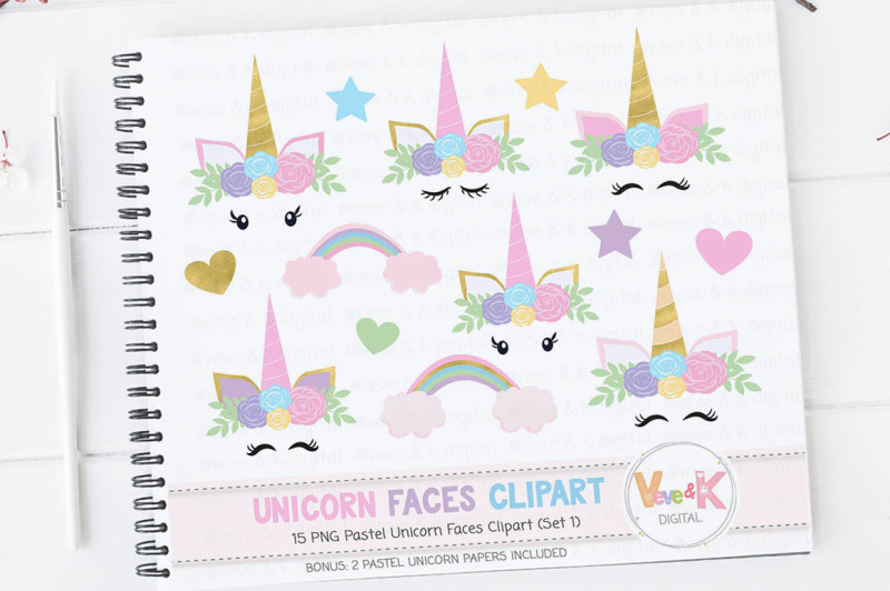 unicorn-faces-clipart-unicorn-faces-graphics
