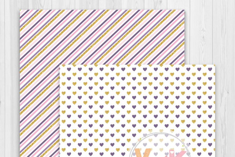 purple-unicorn-clipart-set-unicorn-faces-clipart