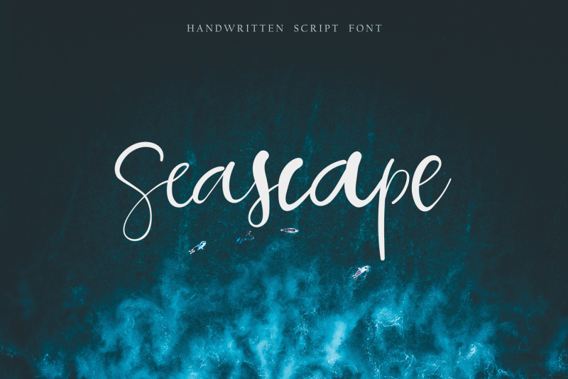 seascape-script-font