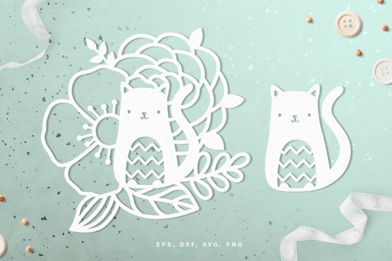 floral-cat-digital-cut-file-svg-dxf-png-eps