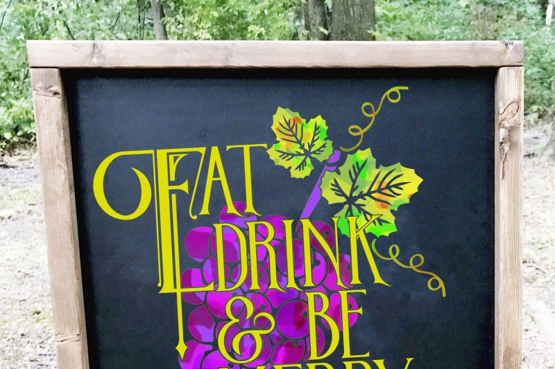 eat-drink-and-be-merry-grapevine-quote