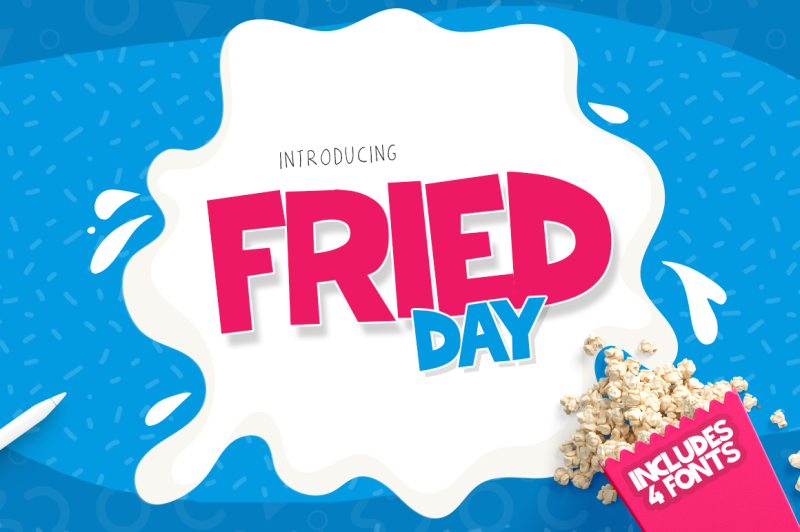 fried-day-font-family-4-fonts