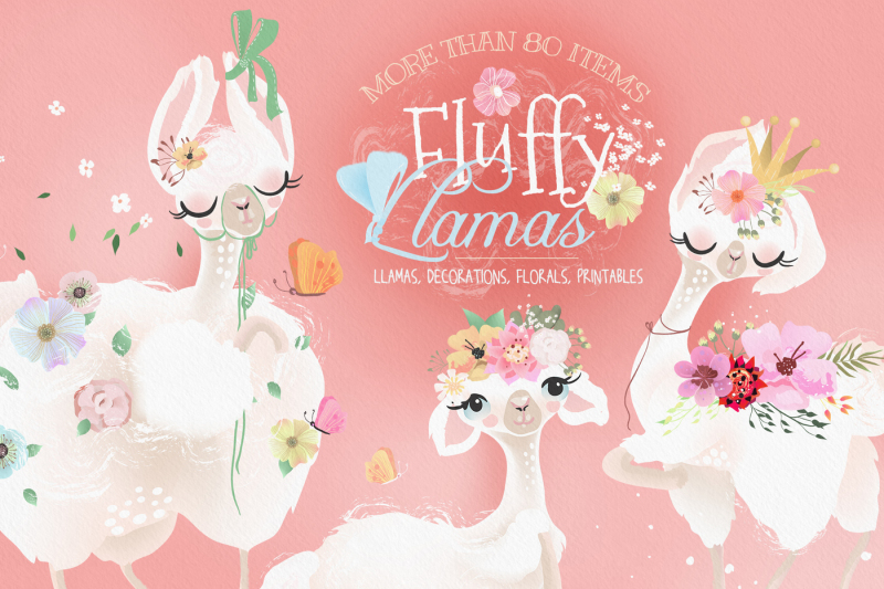 fluffy-llamas-collection