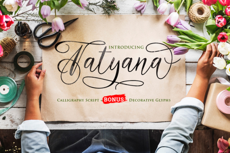 tatyana-calligraphy-script