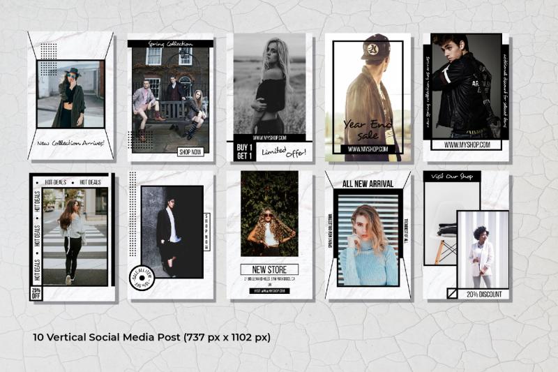 geometric-social-media-post-template