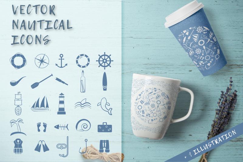vector-nautical-icons